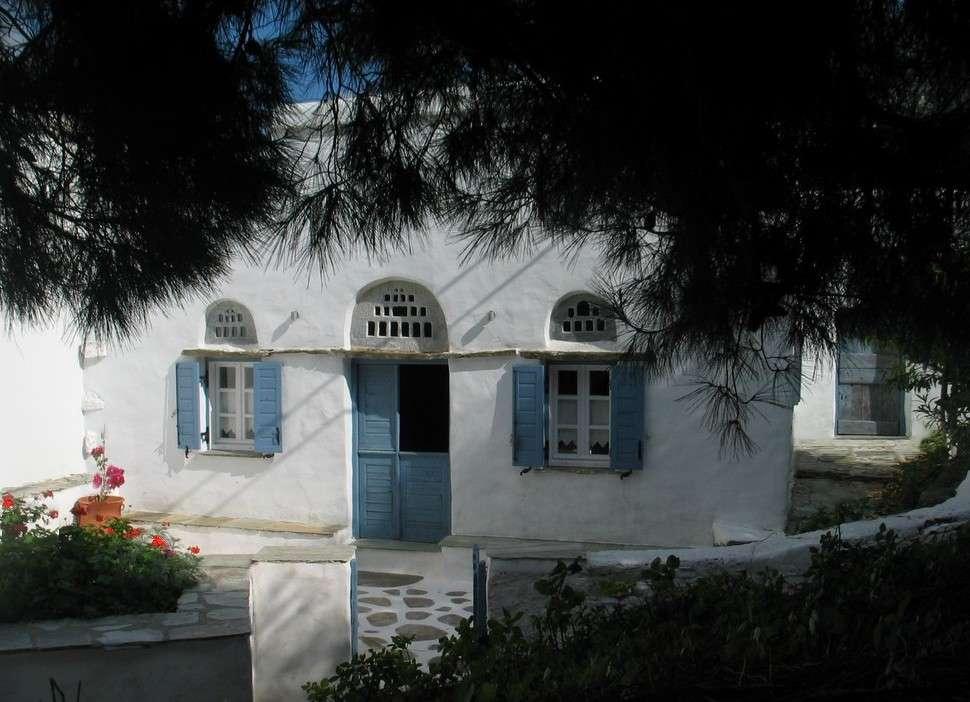Louer une maison de pecheur en grece